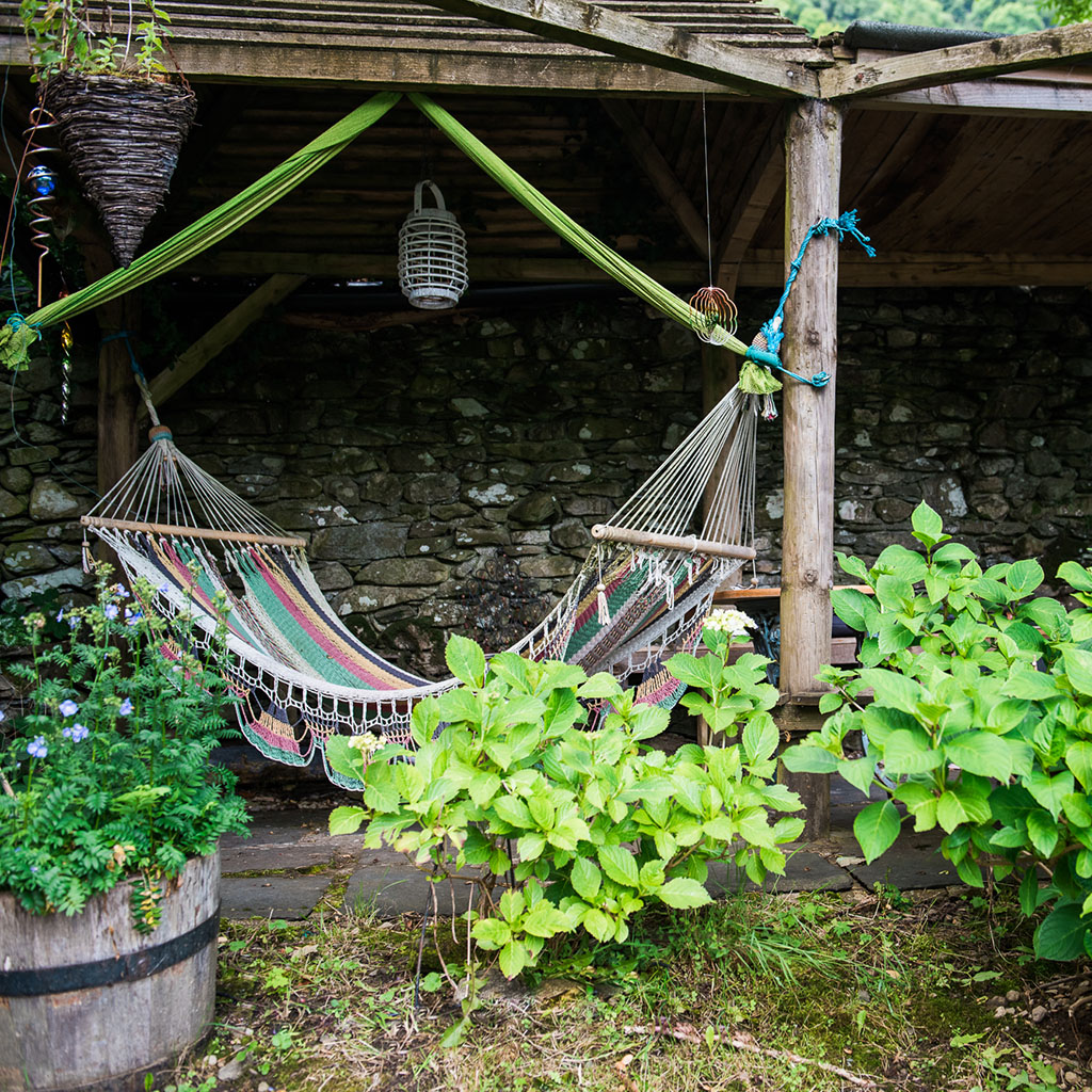 hammock at nab cottage