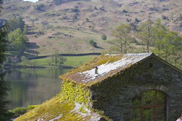 Nab Cottage and lake view