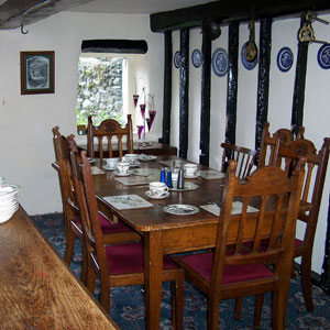Nab Cottage Dining Room