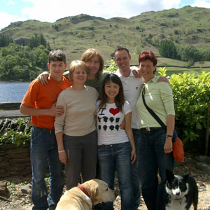 Students at Nab Cottage in Rydal Water